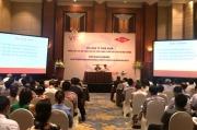 """Hội thảo """"Nền kinh tế tuần hoàn: Hướng tiếp cận mới nhằm nâng cao sức cạnh tranh, giảm chất thải ra môi trường"""""""