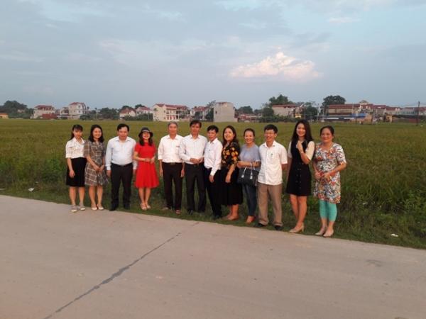 Đoàn cán bộ tạp chí Lý luận chính trị nghiên cứu thực tế tại Thành phố Sông Công, tỉnh Thái Nguyên