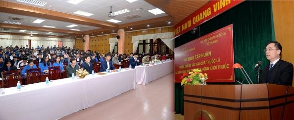 Hội nghị tập huấn phòng, chống tác hại của thuốc lá và xây dựng môi trường không khói thuốc
