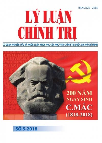 Tạp chí Lý luận chính trị số 5-2018