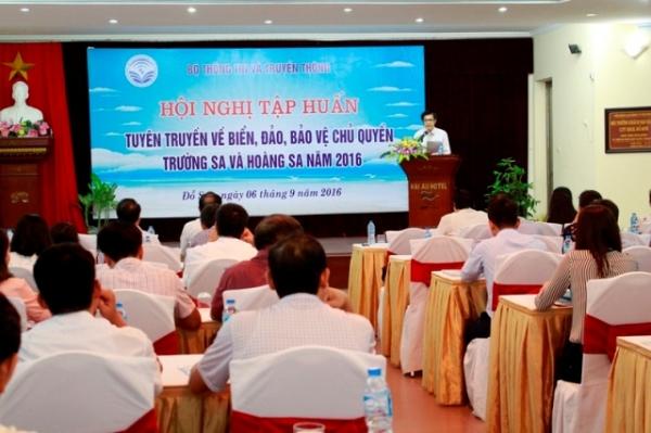 Công tác thông tin, tuyên truyền đối ngoại bảo vệ chủ quyền biển, đảo